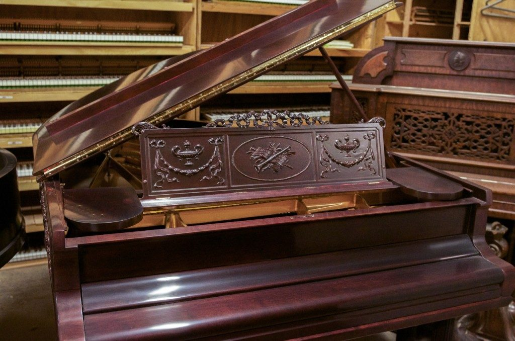 Steinway & Sons A Artcase Grand Piano