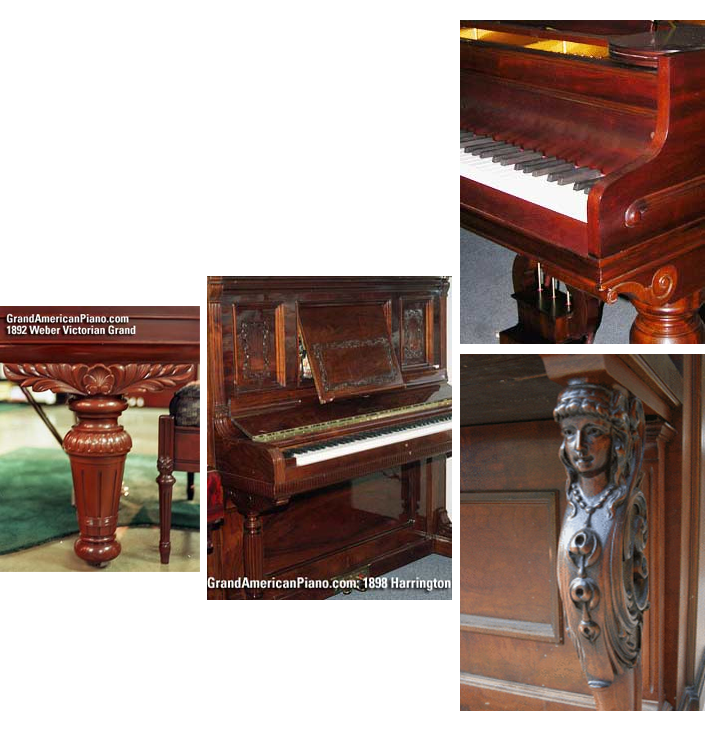 Beautifully Restored Pianos Craftsman Piano